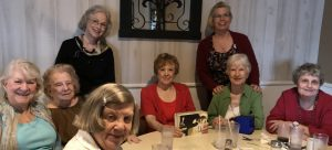 AAUW Southeast Harris County branch members at their annual meeting